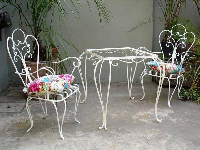 Muebles de hierro y herrería artística - Aberturas San Juan