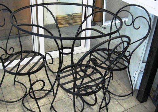 Muebles De Hierro Y Herreria Artistica Aberturas San Juan