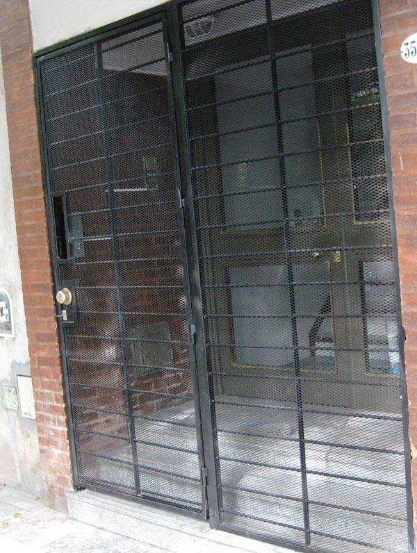 Puertas y rejas de hierro aberturas san juan - Rejas de hierro para puertas ...